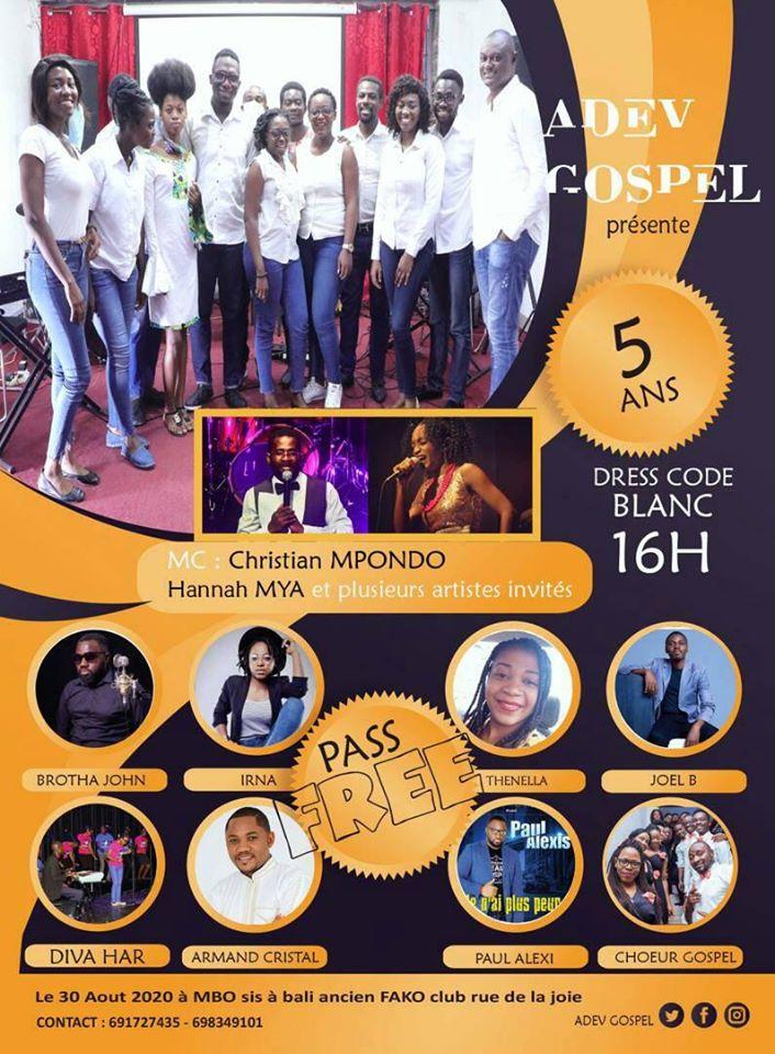 ADEV Gospel fête son 5e anniversaire
