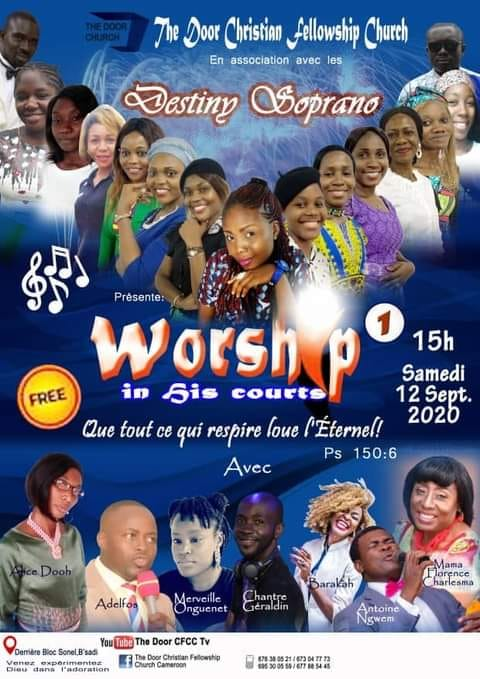 Worship in his courts