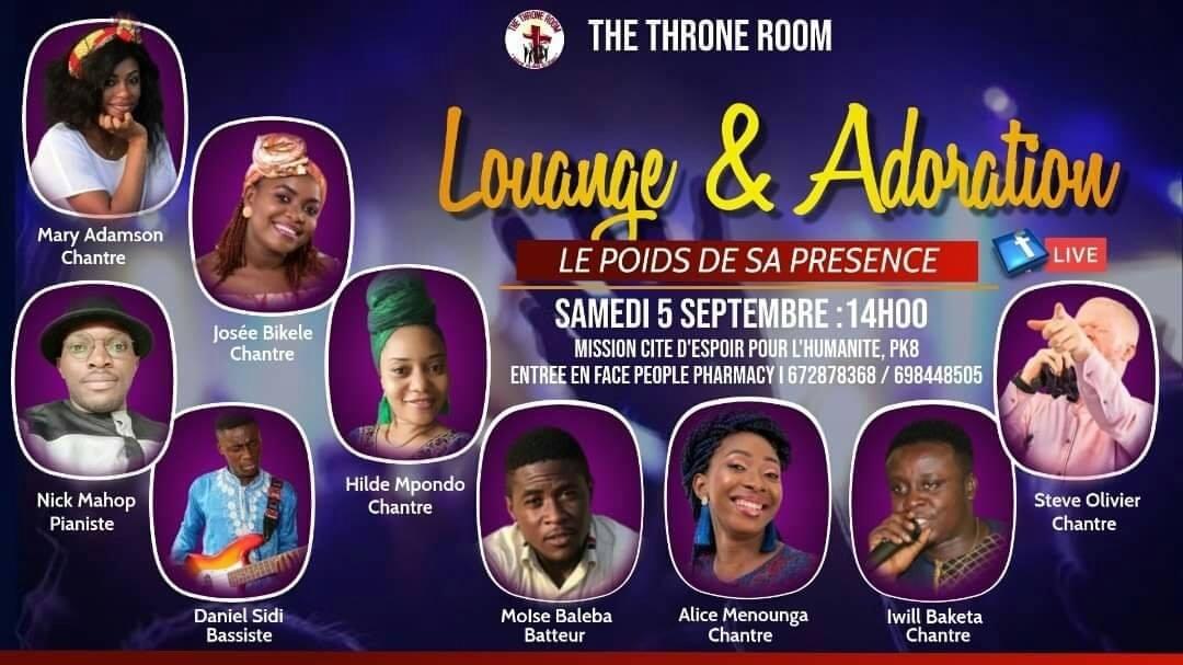 The Throne Room dans le poids de sa présence