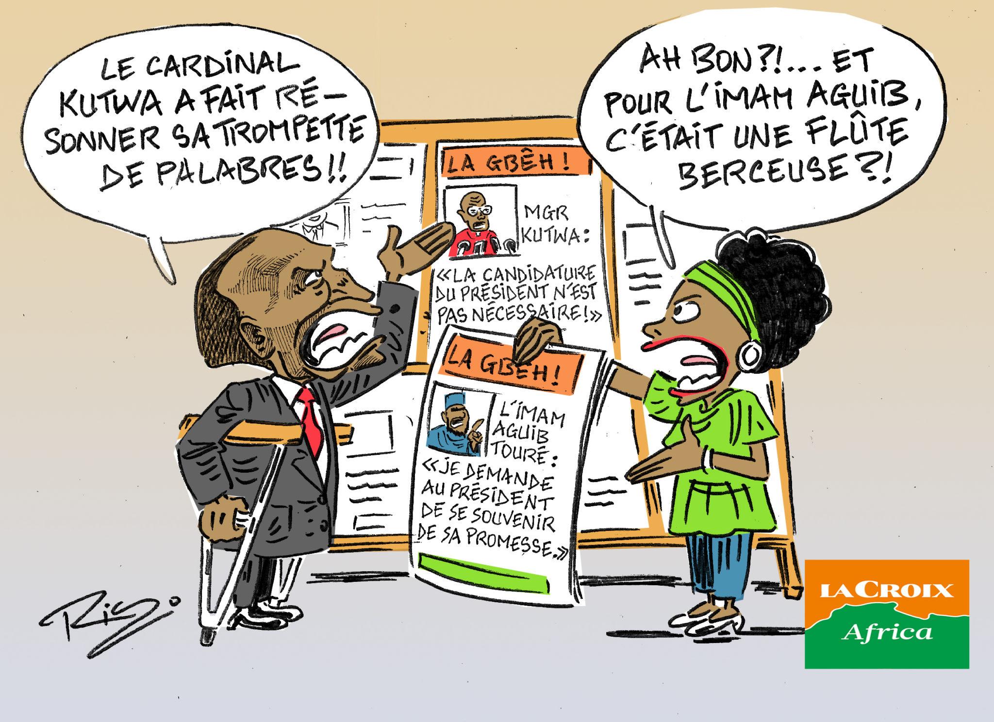 L'œil de Ric: En Côte d'Ivoire, les réactions après l'appel du cardinal Kutwa