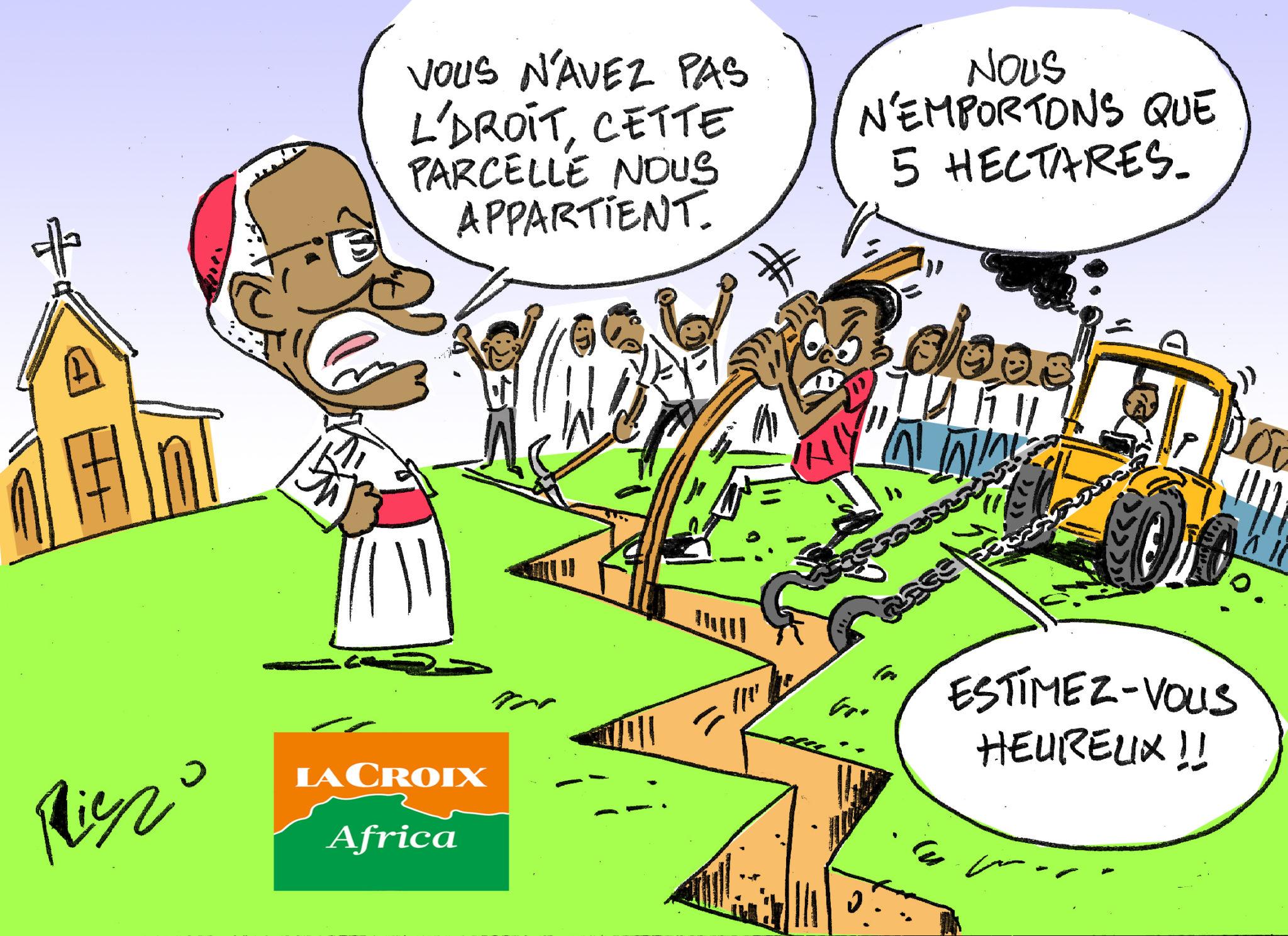 L'œil de Ric: En Guinée, l'archevêque de Conakry dénonce l'expropriation des domaines de l'Église