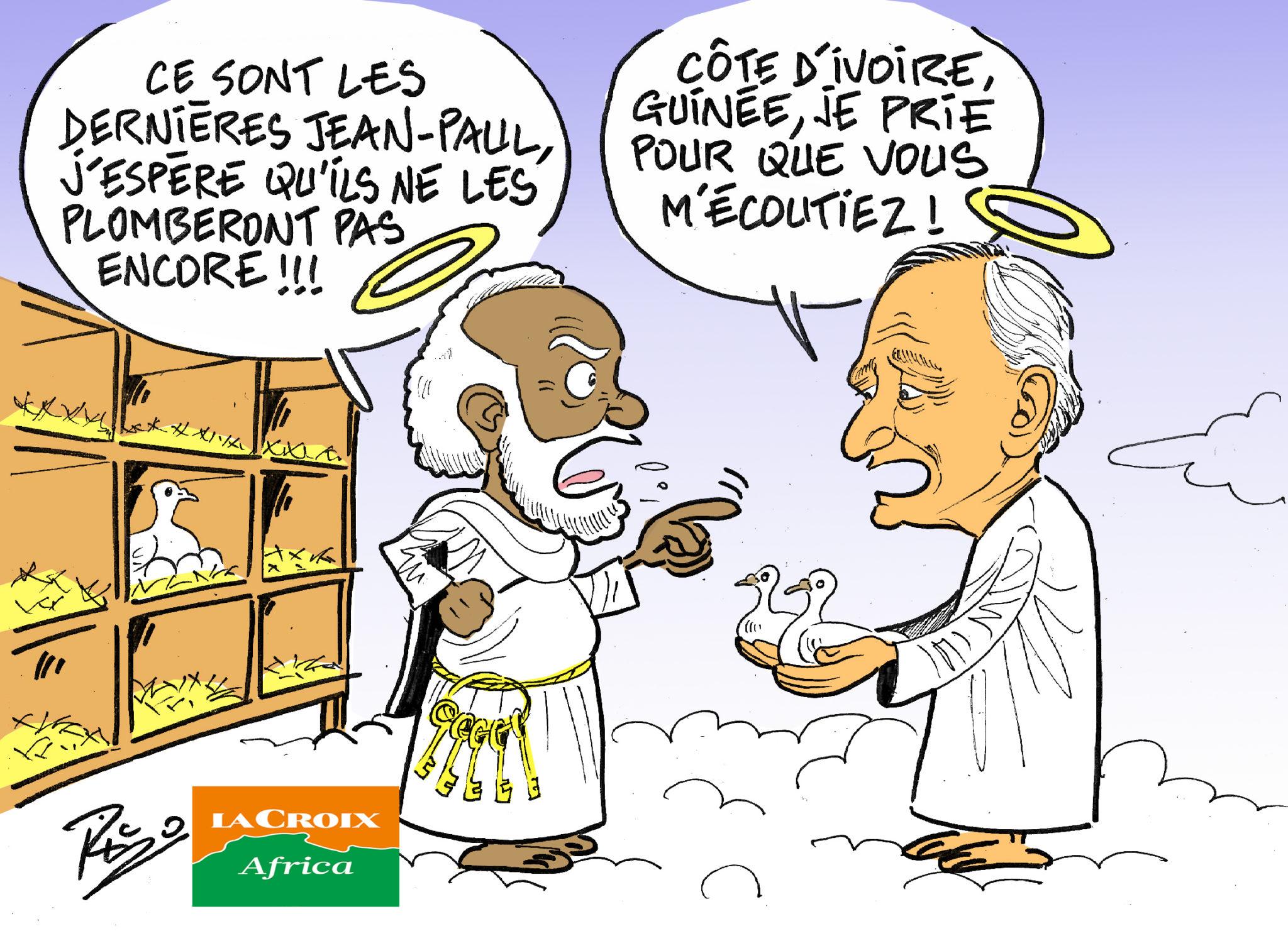 L'œil de Ric: Côte d'Ivoire et Guinée: et si la paix était encore possible? Le plaidoyer de Jean-Paul II