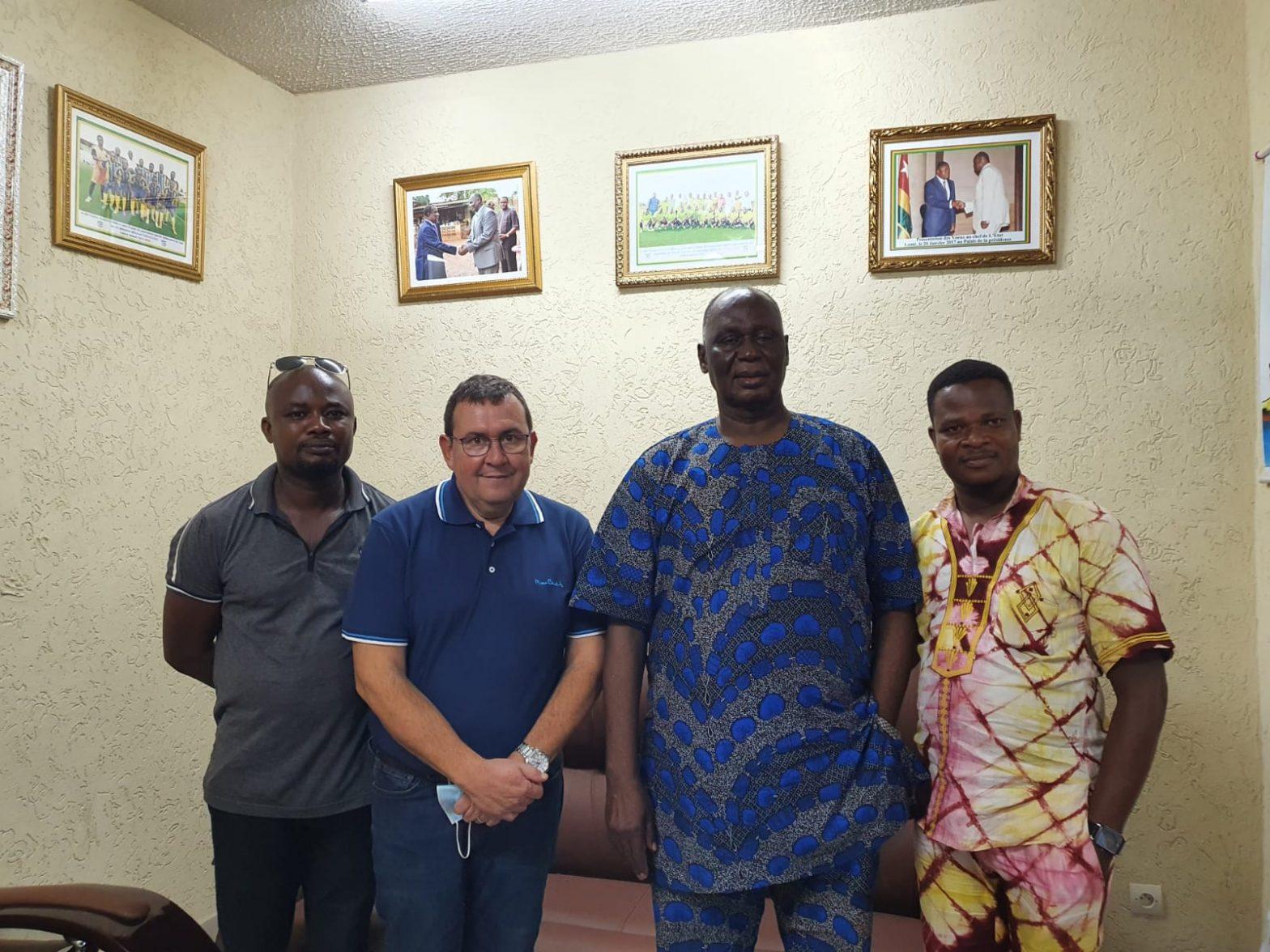 Président du Conseil Chrétien du Togo et Les organisateurs de Lomé 3